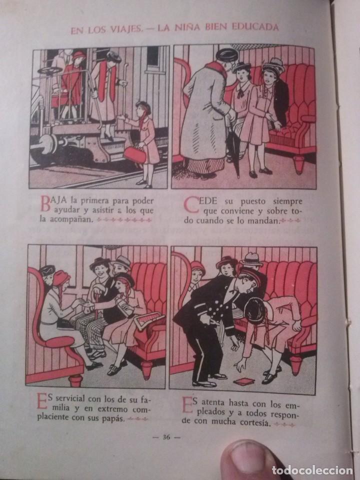 Libros de segunda mano: CARTILLA MODERNA DE URBANIDAD, para niños. Edi. Luis Vives SA 1949 - Foto 6 - 193745435