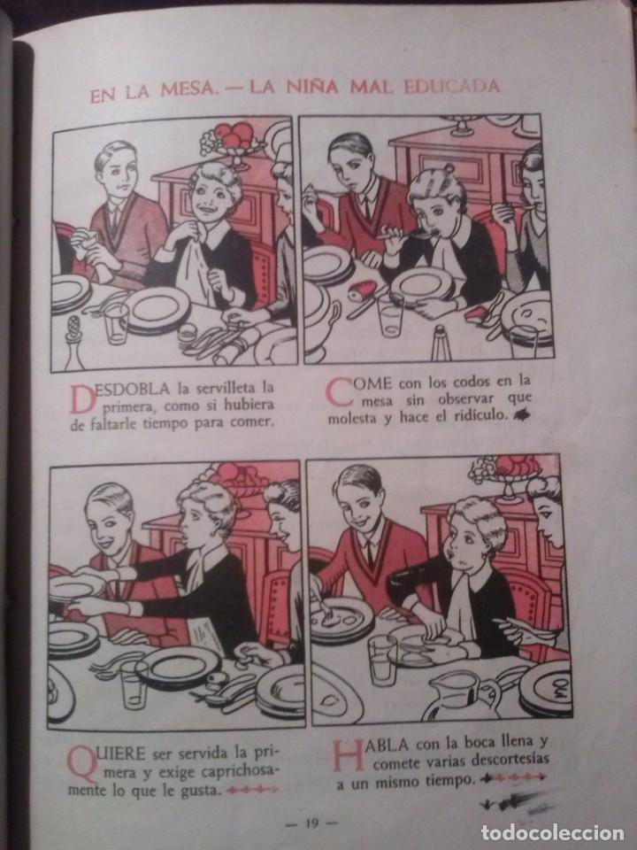Libros de segunda mano: CARTILLA MODERNA DE URBANIDAD, para niños. Edi. Luis Vives SA 1949 - Foto 7 - 193745435