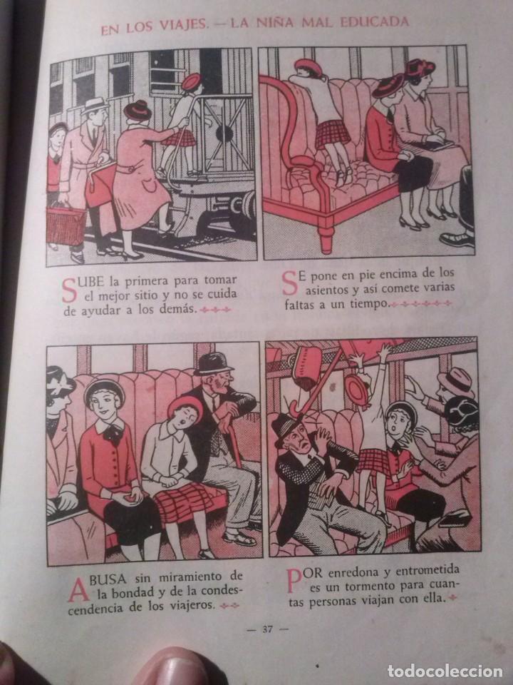 Libros de segunda mano: CARTILLA MODERNA DE URBANIDAD, para niños. Edi. Luis Vives SA 1949 - Foto 8 - 193745435