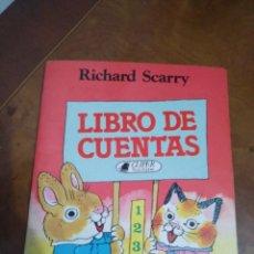 Libros de segunda mano: LIBRO DE CUENTAS. Lote 194908748