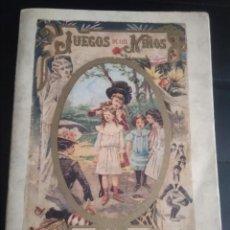 Libros de segunda mano: JUEGOS DE LOS NIÑOS. EDICIONES CALLEJA. FACSÍMIL.. Lote 195210195