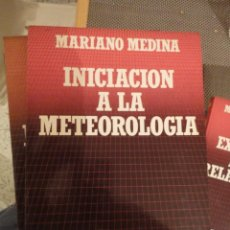 Livres d'occasion: INICIACION A LA METEOROLOGIA. MARIANO MEDINA. BIBLIOTECA CIENTIFICA SALVAT. Nº 44. Lote 195549657