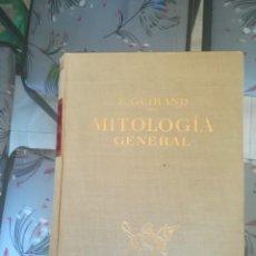 Libros de segunda mano: MITOLOGIA GENERAL. E. GUIRAND. EDIT. LABOR 1960. Lote 197139061