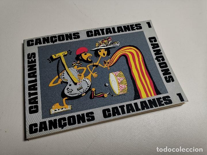 Libros de segunda mano: CANÇONS CATALANES ANTONI NOGUERAS I BRUNET EN CATALÁN .SCOUTS ESCOLTES.CAMPAMENTOS.BARCELONA 1975 - Foto 2 - 197212693