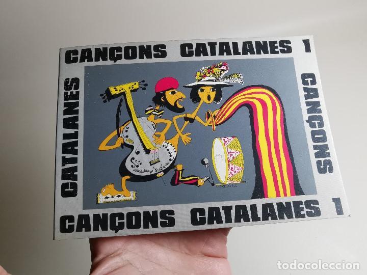 Libros de segunda mano: CANÇONS CATALANES ANTONI NOGUERAS I BRUNET EN CATALÁN .SCOUTS ESCOLTES.CAMPAMENTOS.BARCELONA 1975 - Foto 4 - 197212693