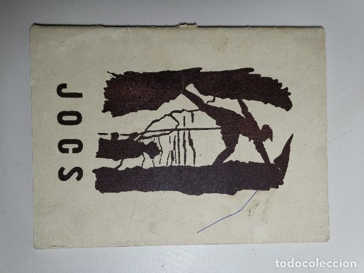 Libros de segunda mano: JOCS EN CATALÁN .JUEGOS PARA SCOUTS ESCOLTES.CAMPAMENTOS.1954 BARCELONA - Foto 3 - 197216353