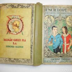 Libros de segunda mano: D. JOSÉ DALMÁU CARLES ENCICLOPEDIA CICLICO-PEDAGÓGICA. GRADO MEDIO Y99447W . Lote 197650727