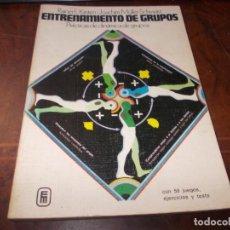 Libri di seconda mano: ENTRENAMIENTO DE GRUPOS, PRÁCTICAS DE DINÁMICA DE GRUPOS, RAINER E. KIRSTEN, JOACHIM MÜLLER-SCHWARZ. Lote 198742615