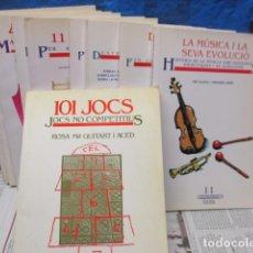 Libros de segunda mano: LOTE DE 11 NÚMEROS DE LA SERIE INSTRUMENTS GUIX DE 1 AL 11 - VER FOTOS. Lote 199687701