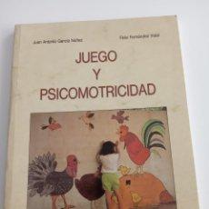 Libros de segunda mano: JUEGO Y PSICOMOTRICIDAD - FELIX FERNANDEZ VIDAL. Lote 200810176