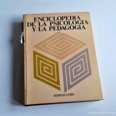 Libros de segunda mano: ENCICLOPEDIA DE LA PSICOLOGIA Y LA PEDAGOGIA - 24 X 31 X 4.CM. Lote 201144368