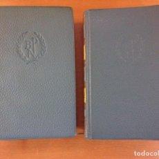 Livres d'occasion: OBRAS ESCOGIDAS / KNUT HAMSUN / TOMO I 4ª EDICIÓN 1964 TOMO II 1958 . AGUILAR. Lote 202779812