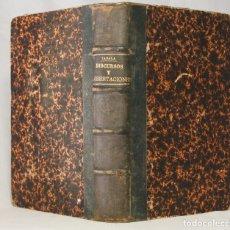 Libros de segunda mano: DISCURSOS Y DISERTACIONES PARA REVÁLIDAS, (...) D. VALENTÍN DE ZABALA. 1876. MAGISTERIO. PEDAGOGÍA.. Lote 203296702