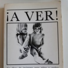 Libri di seconda mano: A VER AÑO 1979 WILL MC BRIDE HELGA FLEISCHHAUER LOGUEZ EDICIONES EDUCACION SEXUAL PARA NIÑOS. Lote 205805693