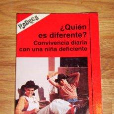 Libros de segunda mano: VILA, ANNA. ¿QUIÉN ES DIFERENTE? : CONVIVENCIA DIARIA CON UNA NIÑA DEFICIENTE (COLECCIÓN PADRES). Lote 206489798