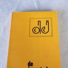 Libros de segunda mano: DE JUVENTUD N°2. REVISTA DE ESTUDIOS E INVESTIGACIONES. PEDAGOGÍA.. Lote 207121280
