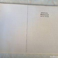 Libros de segunda mano: MONTESSORI EN EL HOGAR. PEDAGOGÍA.. Lote 207129107