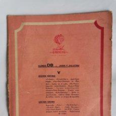 Livres d'occasion: CURSO DB JUDO Y JIU- JITSU FASCÍCULO V. Lote 208860840