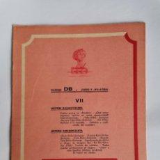 Livres d'occasion: CURSO DB JUDO Y JIU- JITSU FASCÍCULO VII. Lote 208861337