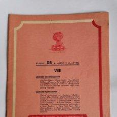 Livres d'occasion: CURSO DB JUDO Y JIU- JITSU FASCÍCULO VIII. Lote 208861526