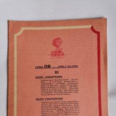 Livres d'occasion: CURSO DB JUDO Y JIU- JITSU FASCÍCULO XI. Lote 208861670