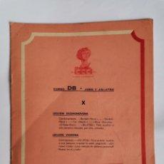 Livres d'occasion: CURSO DB JUDO Y JIU- JITSU FASCÍCULO X. Lote 208861812
