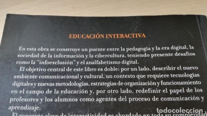 Libros de segunda mano: EDUCACION INTERACTIVA - MARCO SILVA - PRESENCIA Y ON LINE - GEDISA Ñ102 - Foto 3 - 209908985