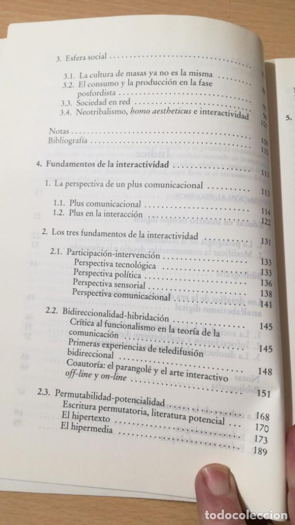 Libros de segunda mano: EDUCACION INTERACTIVA - MARCO SILVA - PRESENCIA Y ON LINE - GEDISA Ñ102 - Foto 9 - 209908985