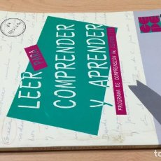 Livros em segunda mão: LEER COMPRENDER Y APRENDER - ESTUDITA MARTIN HERNANDEZ Q401. Lote 209909688