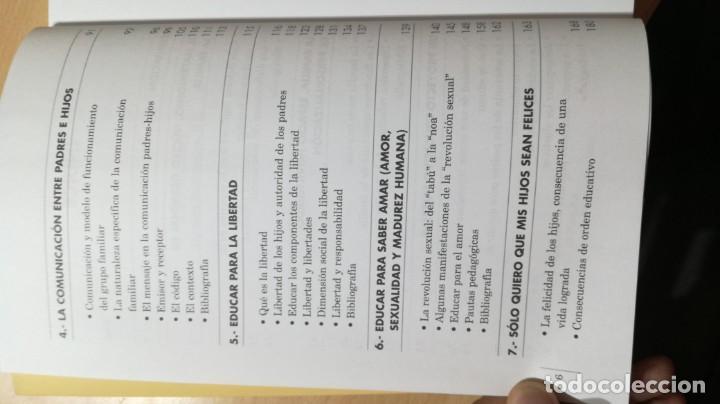 Libros de segunda mano: ATREVERSE A EJERCER DE PADRES - ABILIO DE GREGORIO GARCIA - CON ACTIVIDADES TXT54 - Foto 7 - 209910447