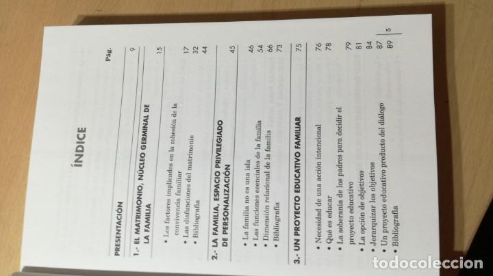 Libros de segunda mano: ATREVERSE A EJERCER DE PADRES - ABILIO DE GREGORIO GARCIA - CON ACTIVIDADES TXT54 - Foto 6 - 209910480