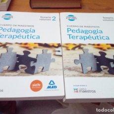 Libros de segunda mano: CUERPO DE MAESTROS. PEDAGOGÍA TERAPÉUTICA. TEMARIO 1 Y 2. EST6B1. Lote 212574061