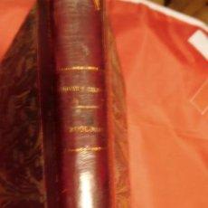Libros de segunda mano: ZOOLOGIA, I BOLIVAR Y S. CALDERÓN. Lote 213027707