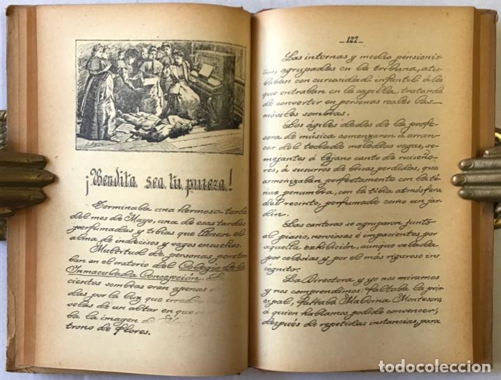 Libros de segunda mano: LA ESCUELA Y LA PATRIA. Lecturas manuscritas. - SANTIAGO-FUENTES, Magdalena. - Foto 4 - 123245475
