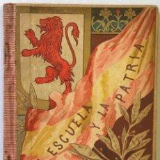 Libros de segunda mano: LA ESCUELA Y LA PATRIA. LECTURAS MANUSCRITAS. - SANTIAGO-FUENTES, MAGDALENA.. Lote 123245475