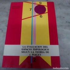 Libros de segunda mano: PRPM 54 LA EVALUACIÓN DEL ESPACIO TOPOLÓGICO SEGÚN LA TEORÍA DE J. PIAGET. JOAN JORDI MUNTANER. Lote 213744202