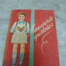 Libros de segunda mano: PRPM 55 MANUSCRITO EPISTOLAR ..SANTOS DIAZ SANTILLANA, EDIT MIGUEL SALVATELLA, 1957. Lote 214141226
