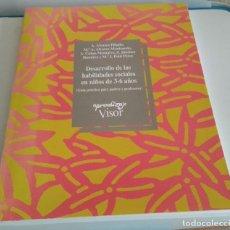 Libros de segunda mano: DESARROLLO DE LAS HABILIDADES SOCIALES EN NIÑOS DE TRES - SEIS AÑOS.- VARIOS AUTORES. Lote 217379978