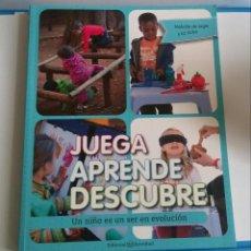 Libros de segunda mano: JUEGA, APRENDE, DESCUBRE. MELODIE DE JAGER Y LIZ VICTOR. Lote 219124912