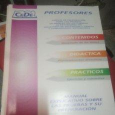Libros de segunda mano: CEDE PROFESORES. Lote 221504530