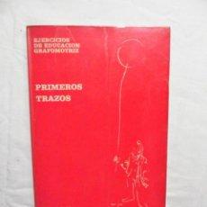 Libros de segunda mano: PRIMEROS TRAZOS EJERCICIOS DE EDUCACION GRAFOMOTRIZ POR EMILA PUIG ALVAREZ. Lote 221603360