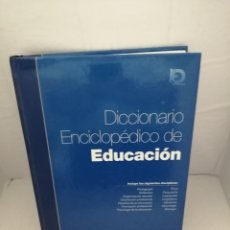 Libros de segunda mano: DICCIONARIO ENCICLOPÉDICO DE EDUCACIÓN (INCLUYE CD-ROM). Lote 223589213