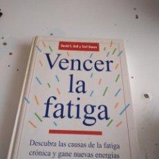 Livros em segunda mão: G-56 LIBRO VENCER LA FATIGA DAVID BELL CIRCULO DE LECTORES STEF DONEV. Lote 224959825