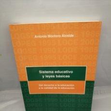 Libros de segunda mano: SISTEMA EDUCATIVO Y LEYES BÁSICAS: DEL DERECHO DE LA EDUCACIÓN A LA CALIDAD DE LA EDUCACIÓN.1ª EDIC.. Lote 228277600