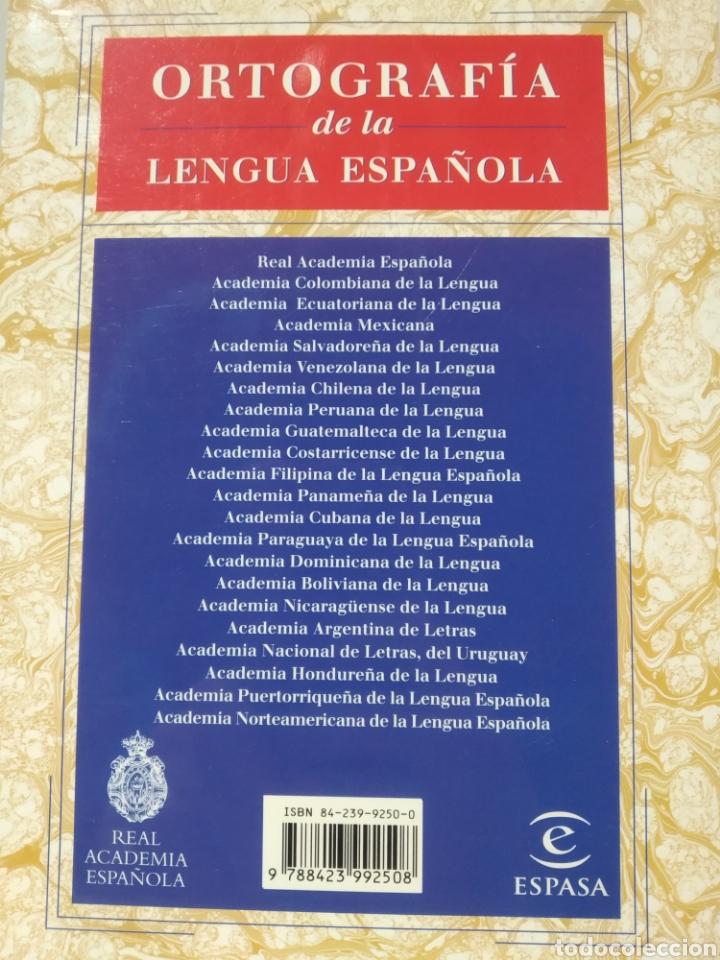 Libros de segunda mano: Ortografía de la lengua española. Real academia española. Espasa. 1999 - Foto 2 - 232235975