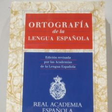 Libros de segunda mano: ORTOGRAFÍA DE LA LENGUA ESPAÑOLA. REAL ACADEMIA ESPAÑOLA. ESPASA. 1999. Lote 232235975