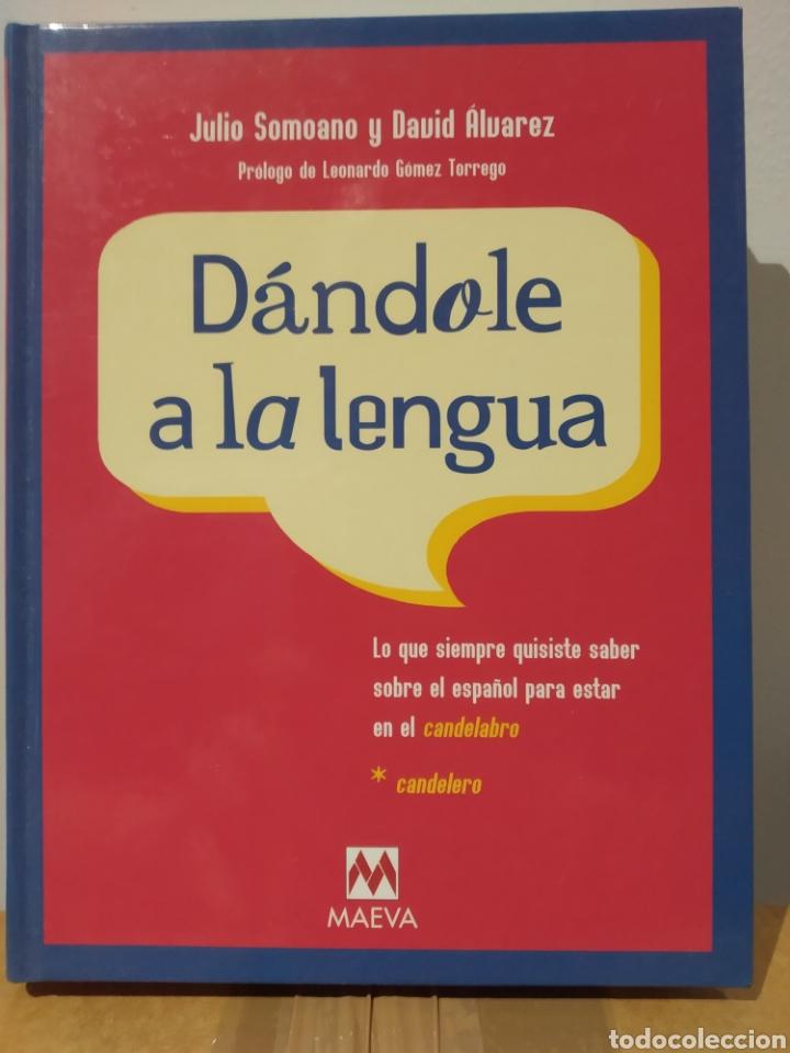 DÁNDOLE A LA LENGUA. 2003 - JULIO SOMOANO Y DAVID ÁLVAREZ, - ENCUADERNACIÓN DE TAPA DURA (Libros de Segunda Mano - Ciencias, Manuales y Oficios - Pedagogía)