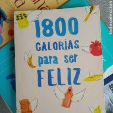 Libros de segunda mano: 1800 CALORÍAS PARA SER FELIZ JEAN-MICHEL COHEN 2011 EDITORIAL PLANETA. Lote 232808430