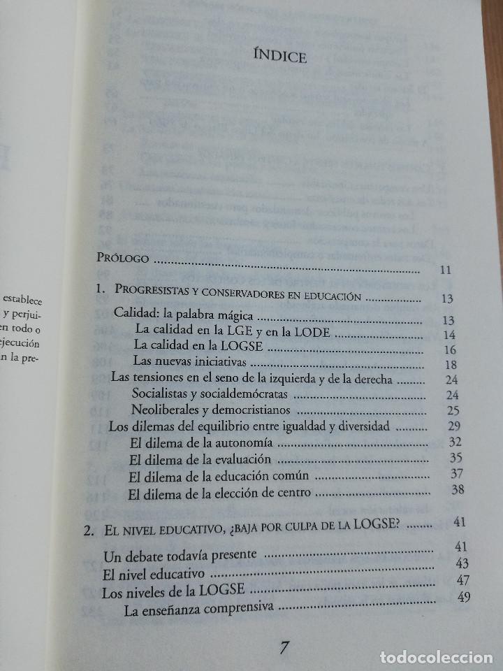 Libros de segunda mano: CONTROVERSIAS EN LA EDUCACIÓN ESPAÑOLA (ÁLVARO MARCHESI) - Foto 3 - 233612495