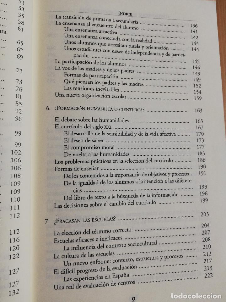 Libros de segunda mano: CONTROVERSIAS EN LA EDUCACIÓN ESPAÑOLA (ÁLVARO MARCHESI) - Foto 5 - 233612495